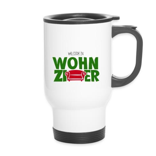 Wohnzimmer-Logo - Thermobecher mit Tragegriff