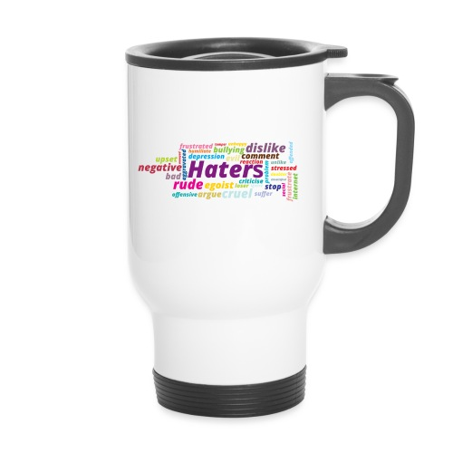 Haters - Taza termo