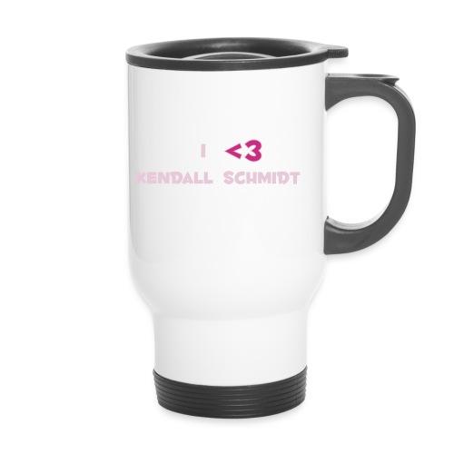 split heart 2 - Travel Mug