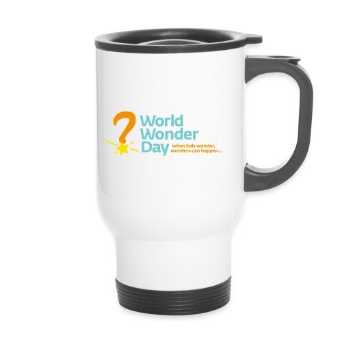 wwd_logo_FINAL - Thermal mug with handle