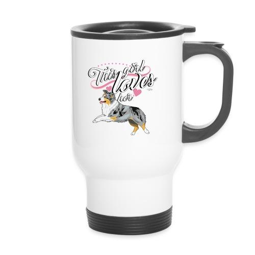 aussielovegirl11 - Thermal mug with handle