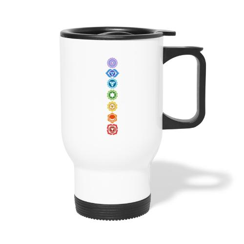 The 7 Chakras, Energy Centres Of The Body - Travel Mug
