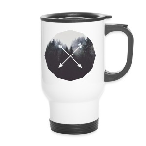 Misty Forest Blended With Crossed Arrows - Tazza termica