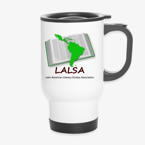 LALSA Dark Lettering - Thermal mug with handle