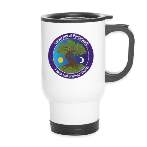 logo png - Thermal mug with handle