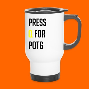 Press Q for play of the game - Travel Mug