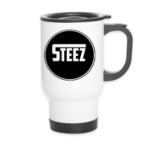 Steez logo white - Thermo mok