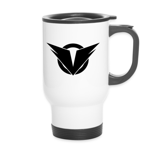 Vintry Logo on back - Thermobecher mit Tragegriff