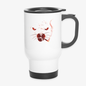 smocking cat - Mug thermos