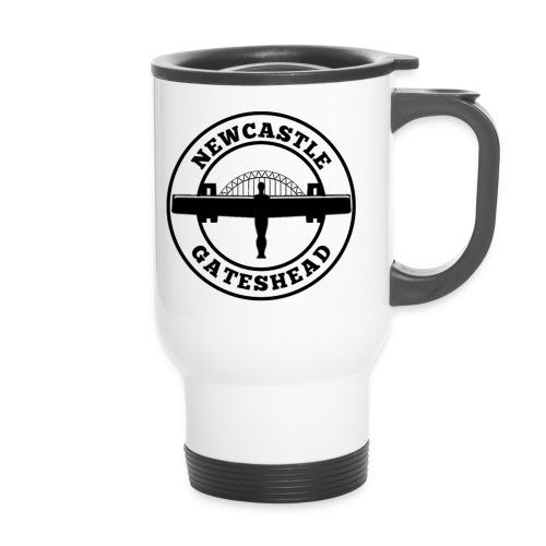 NEW BIGGER LOGO - Travel Mug