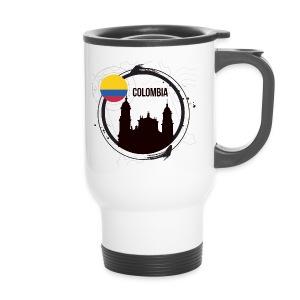 Kolumbien T-Shirt - Thermobecher