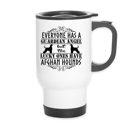 Afghan Hound Angels - Thermal mug with handle