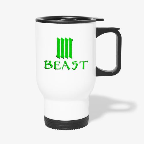 Beast Green - Thermal mug with handle