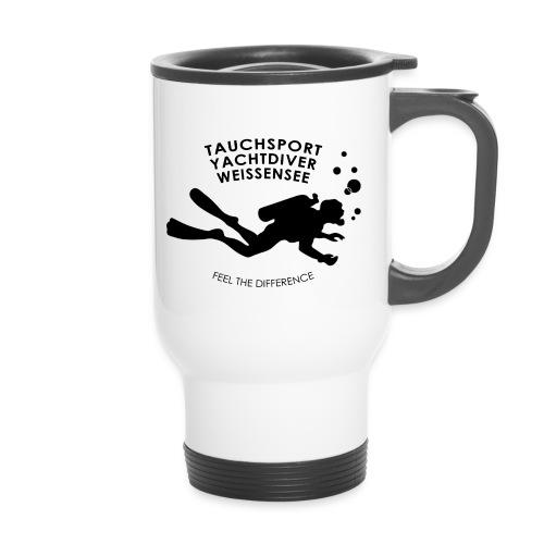 LOGO TAUCHSCHULE WEISSENS - Thermobecher