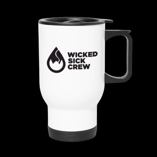 Wicked Sick Crew Tropfen schwarz - Thermobecher