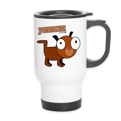 Junkie - Thermobecher mit Tragegriff