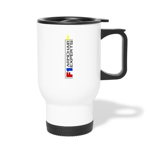 F1 Armchair Experts Logo BK - Travel Mug