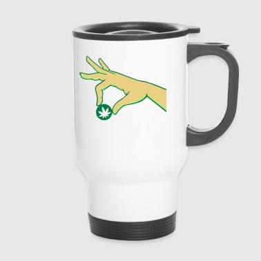 chanvre main - Mug thermos