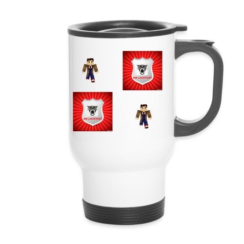 MR LUCKY CAT LOGO jpg - Travel Mug