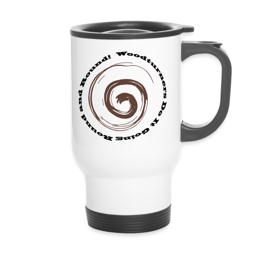 Round and Round - Travel Mug