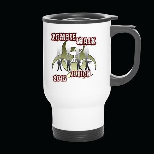 shirt zombie walk1 - Thermobecher mit Tragegriff