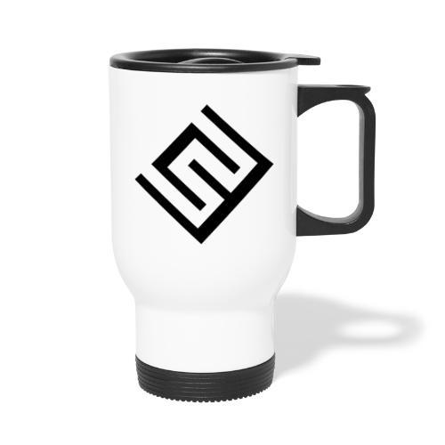 ChrisWhippit Logo svart - Termosmugg