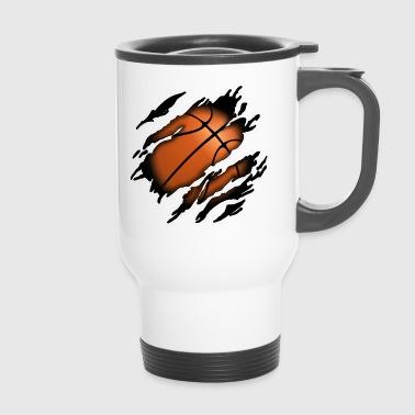 Basketball en moi - Mug thermos