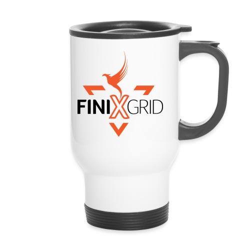FinixGrid Orange - Travel Mug