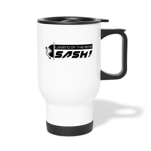 DJ SASH! Turntable 2020 Logo - Thermal mug with handle