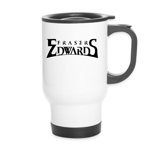 Fraser Edwards Men's Slim Fit T shirt - Travel Mug