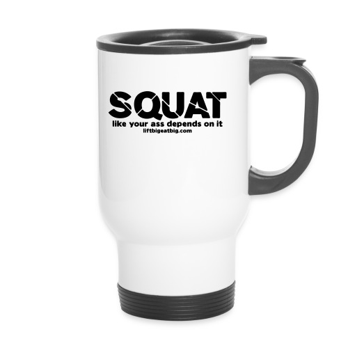 squat - Travel Mug