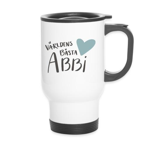 Världens bästa Abbi - Termosmugg med handtag