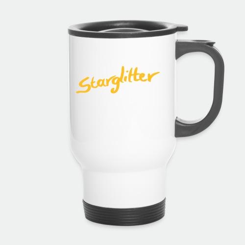 Starglitter - Lettering - Travel Mug