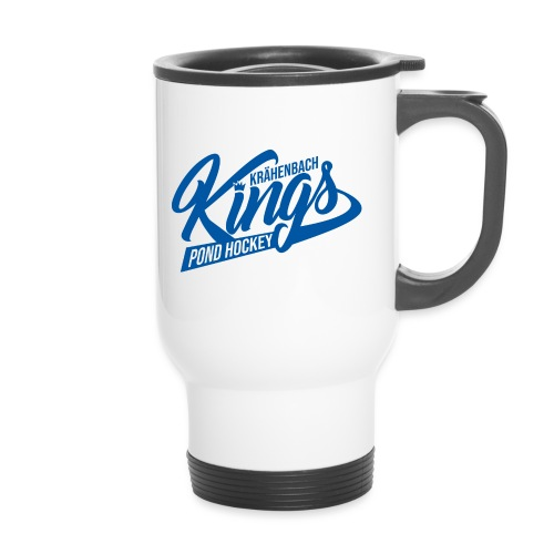 KINGS Logo 2019 einfach blue - Thermobecher