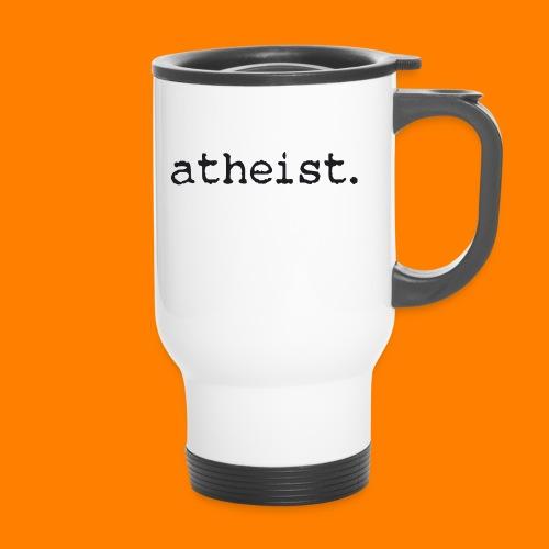 atheist BLACK - Travel Mug
