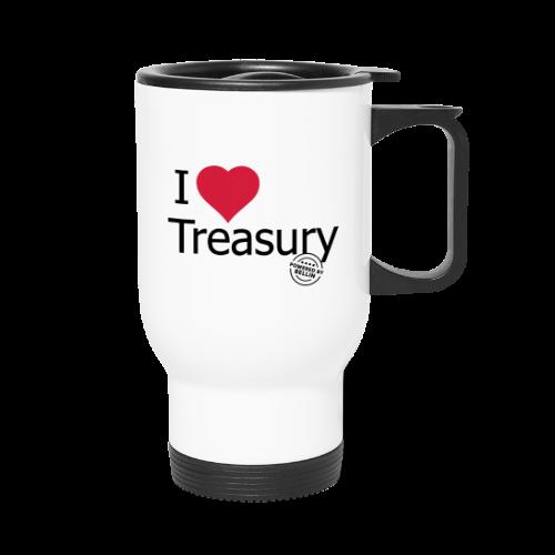 I LOVE TREASURY - Travel Mug