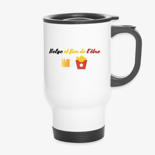 Belge et fier de l'être - Mug thermos