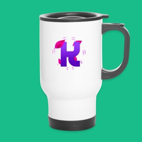 youtube logo shirt png - Travel Mug