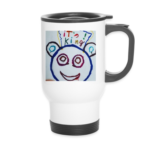 de panda beer - Thermosmok met draagring