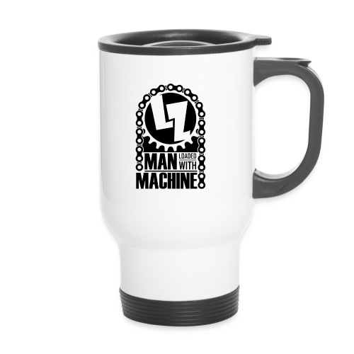 for all the bikers - Thermal mug with handle