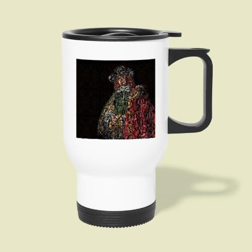 Jan Six - Rembrandt van Rijn - Thermal mug with handle