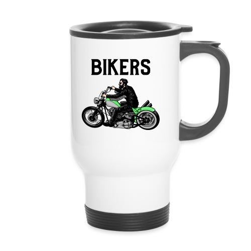 Green bikers - Tasse isotherme avec poignée