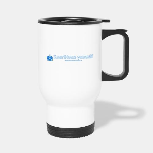 SmarthomeYourself Logo - Thermobecher mit Tragegriff