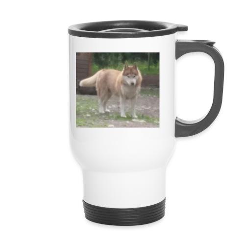 MY DOG - Kahvallinen termosmuki