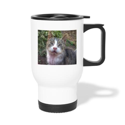 Katze Max - Thermobecher mit Tragegriff