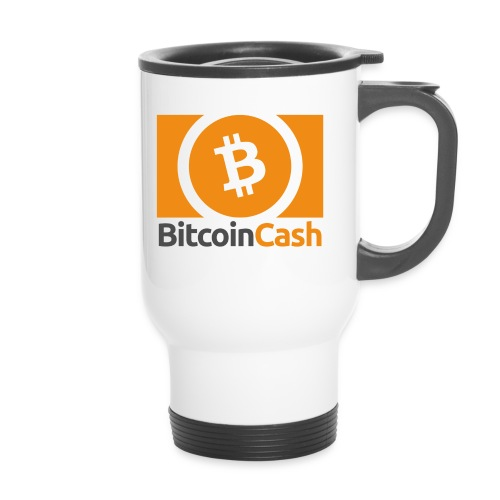 Bitcoin Cash - Kahvallinen termosmuki