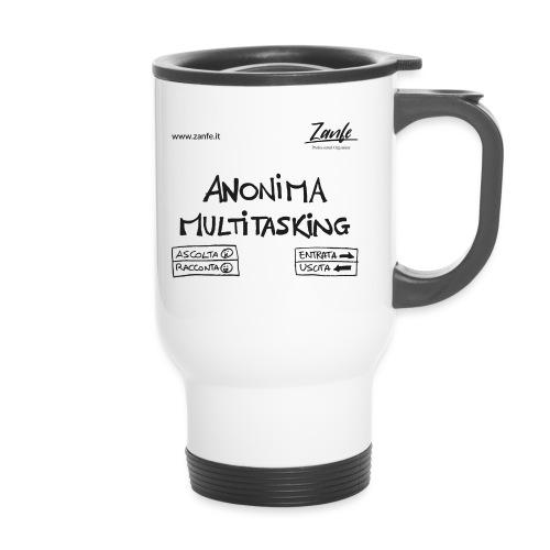 Anonima Multitasking (Nero) - Tazza termica