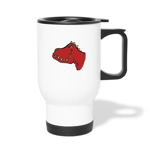 T Rex, Red Dragon - Travel Mug
