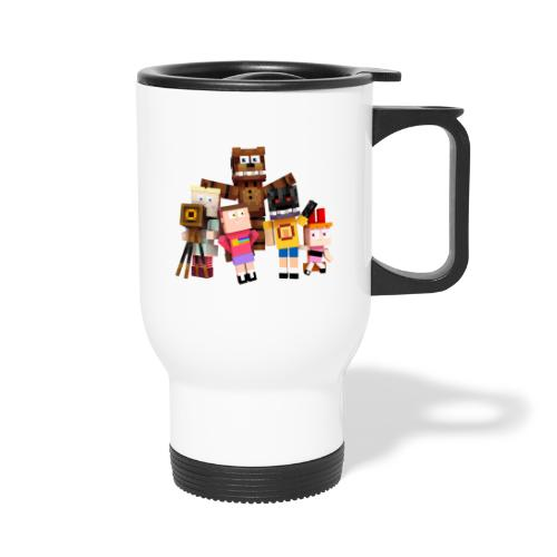 Withered Bonnie Productions - Meet The Gang - Thermal mug with handle