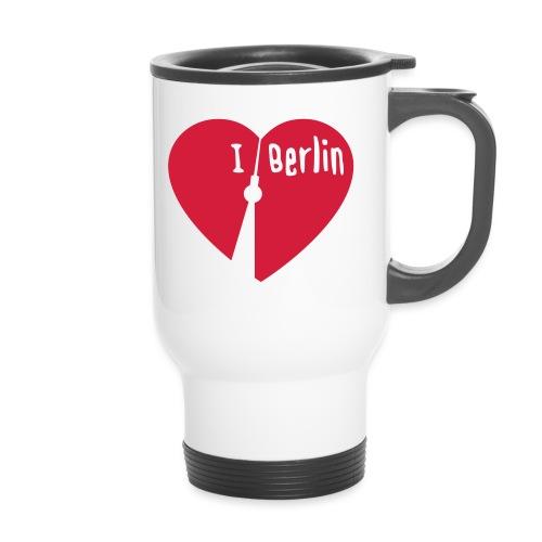 I love Berlin (1-farbig) - Thermobecher